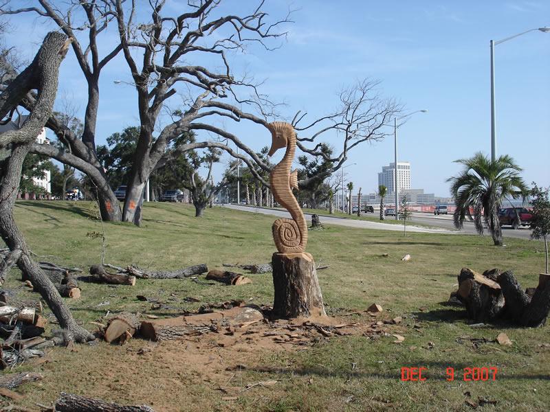 Initial katrina sculptures by marlin miller dec