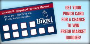 Farmers market card