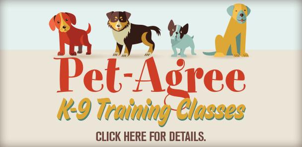 Pet-Agree-training-classes